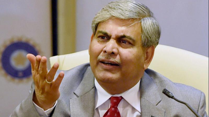 ICC chairman Shashank Manohar. DC Fike Photo