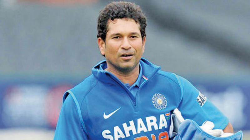 Batting maestro Sachin Tendulkar