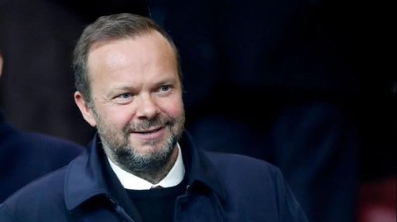 Manchester United's vice chairman Ed Woodward. Twitter Photo