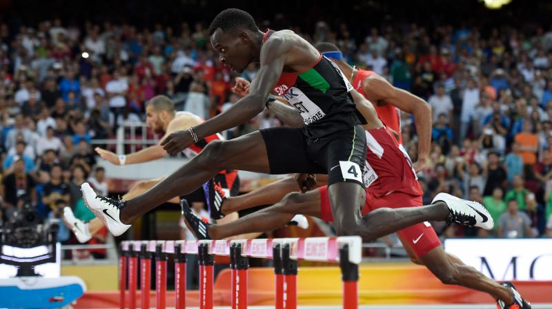IOC helps atheletes preparing for Olympics. AFP Photo