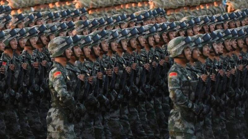 China's military budget -- the second largest in the world after the US, though still less than a third of Washington's -- is set to increase by 6.8 percent in 2021, the finance ministry announced in March. (Representational image: AFP)