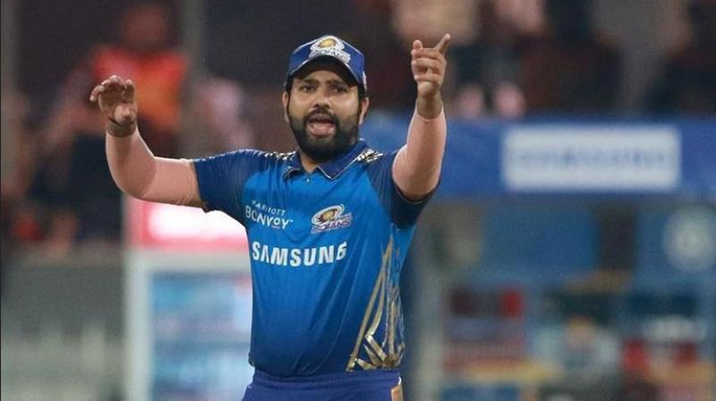 Rohit Sharma stunned everyone when he took to the field to play against SRH on Tuesday