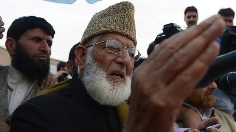 Hurriyat Conference chairman Syed Ali Geelani. (Photo: File)