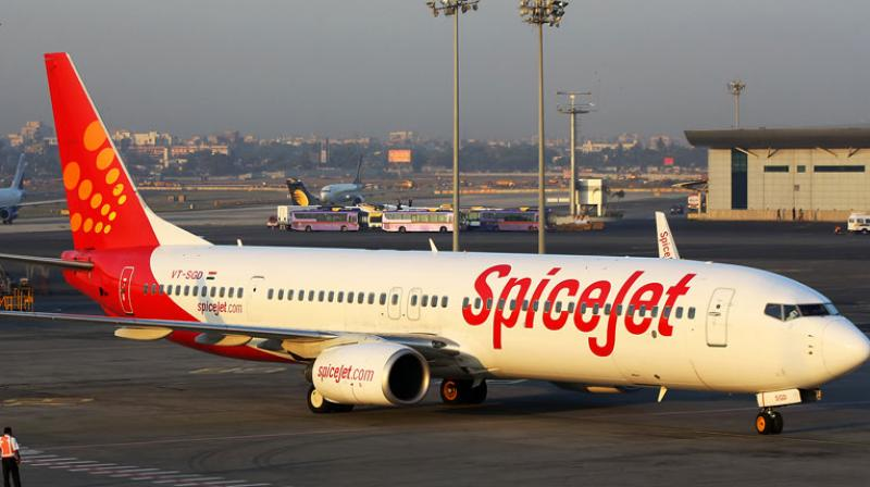 SpiceJet will add six more Boeing 737-800 NG aircraft on a dry lease, in addition to the sixteen 737s and five Bombardier Q400s it inducted recently. (Photo: PTI/Representational)