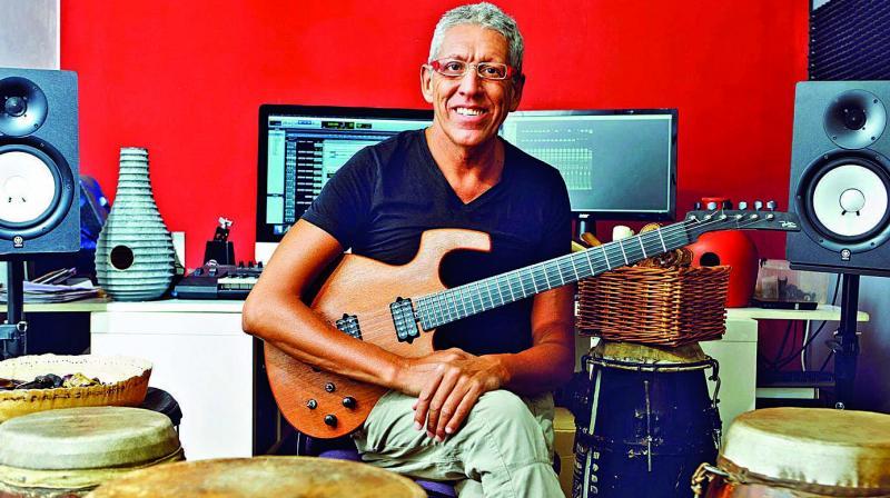 Percussionist Alvaro from Spain