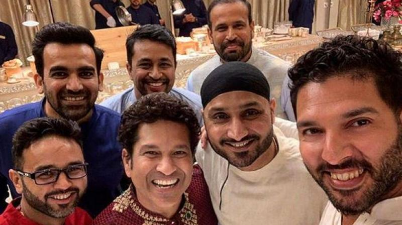 Yuvraj Singh shared a picture on his Instagram.