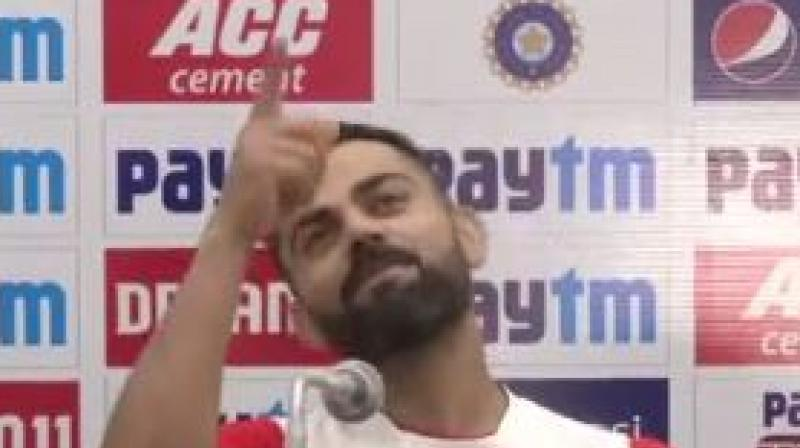 India skipper Virat Kohli hailed team's fast bowlers saying that Men in Blue's pacers are best attackers in the world. (Photo:ANI)