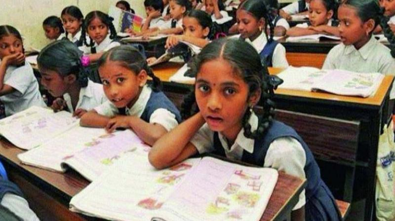 SSC students got new syllabus for 2018-19. —File pic.