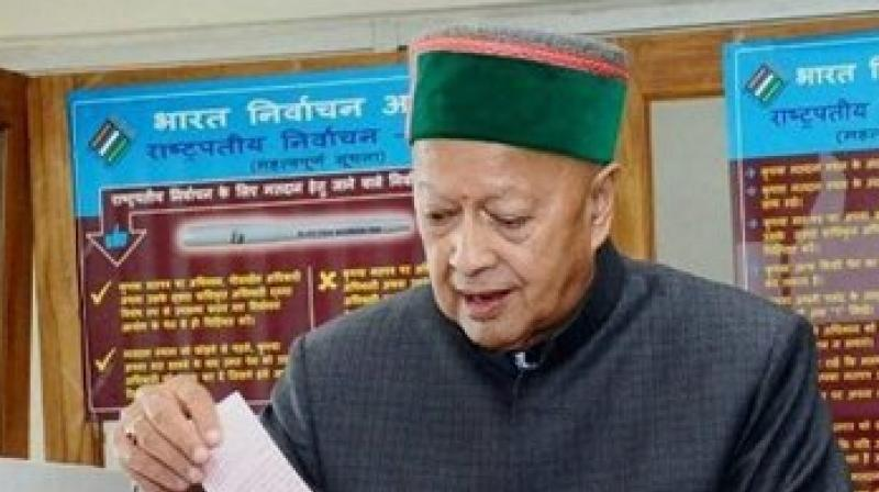 Himachal Pradesh Chief Minister Virbhadra Singh listed out the development undertaken by his government and claimed that Himachal Pradesh has emerged as the most literate state in the country. (Photo: PTI)