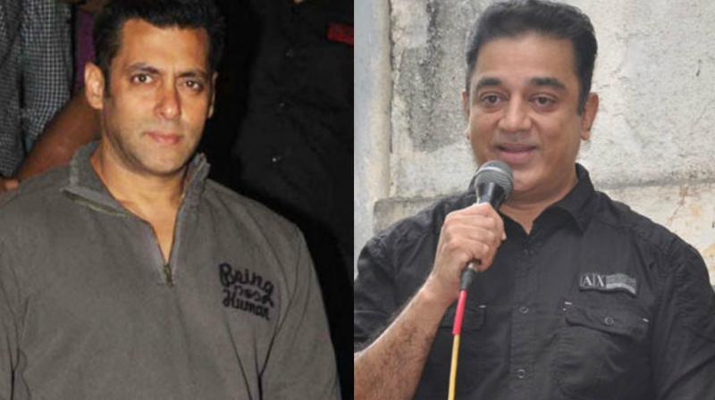 Salman Khan and Kamal Haasan.