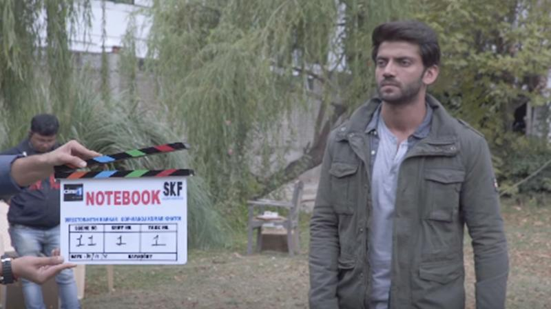 Screengrab of Notebook Chapter 4 featuring Zaheer Iqbal. (Courtesy: YouTube/Salman Khan Films)