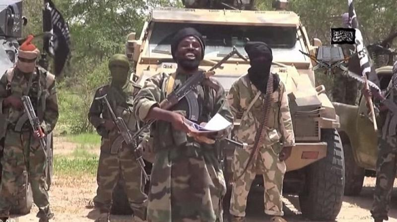 On April 14, 2014, gunmen stormed the Chibok girls' boarding school, kidnapping 276 pupils aged 12-17, 57 of whom managed to escape by jumping from the trucks. (File Photo)