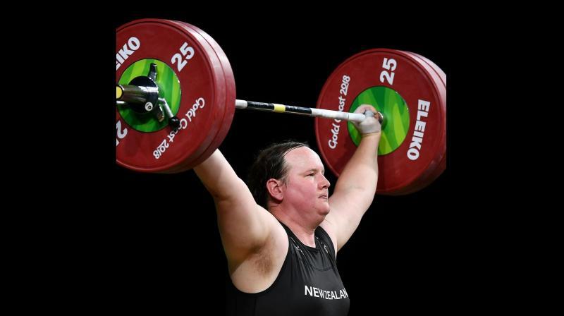 New Zealand weightlifter Laurel Hubbard. (www.givemesport.com)