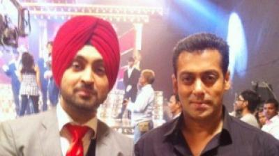 When Salman Khan got Diljit Dosanjh star-struck