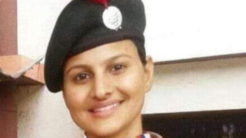 File image of policewoman Sunita Yadav.