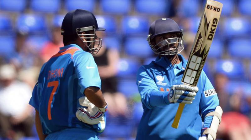 The 31-year-old Dinesh Karthik, who was part of India's title-winning Champions Trophy campaign in 2013, last played an ODI against Afghanistan during the 2014 Asia Cup. (Photo: AFP)