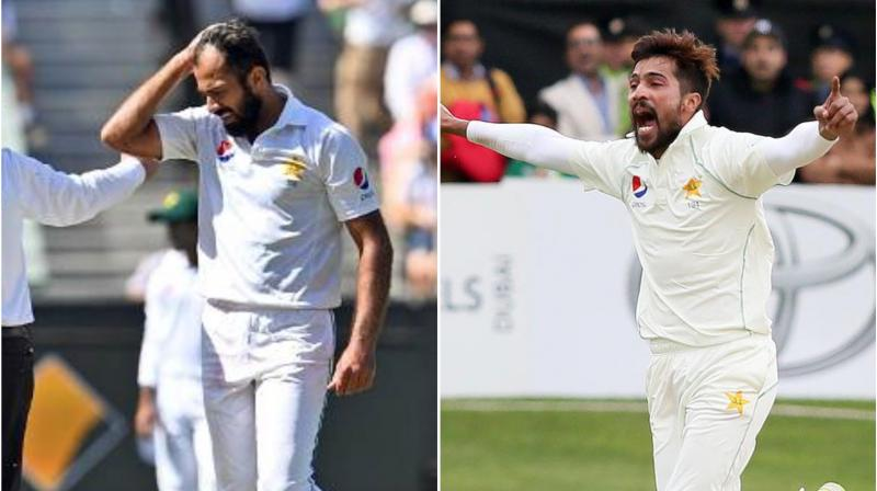 Pakistan coach Misbah-ul-Haq on Tuesday criticised Mohammad Amir and Wahab Riaz over their retirement from the longest format of the game. (Photo:AFP)
