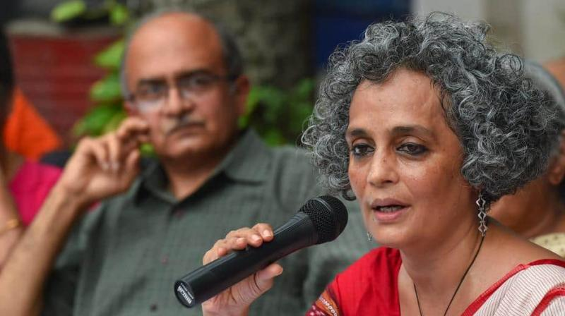 Arundhati Roy, Prashant Bhushan, Jignesh Mevani and other activists called for immediate end to 'political acts of vendetta'. (Photo: PTI)
