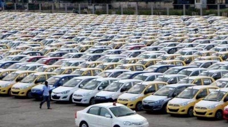 The downtrend in automobile sector was due to high interest cost and financing constraints which dented demand, auto analysts said.