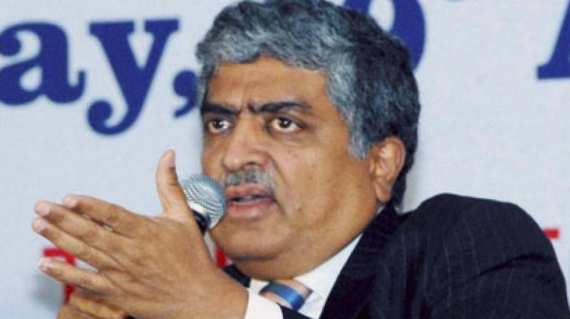 Infosys co-founder and former CEO Nandan Nilekani. (Photo: File | PTI)
