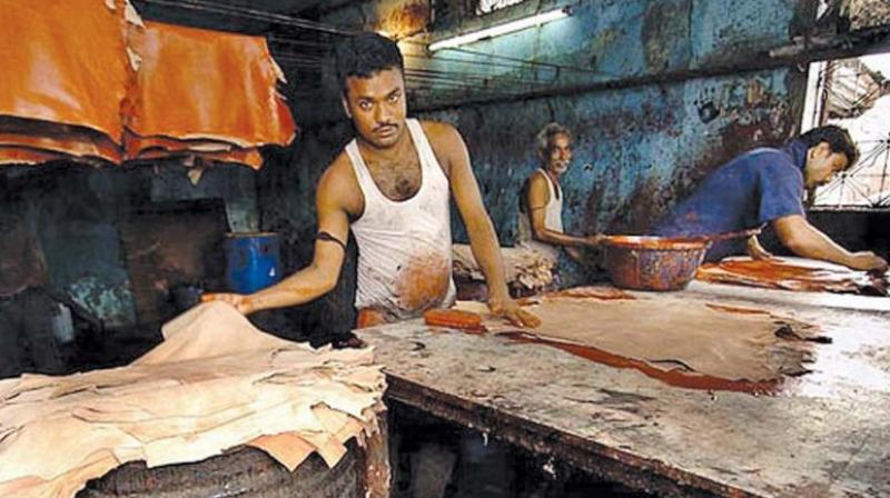 A finance ministry report said India should sign more free trade agreements and make tax and labour reforms to drive leather exports