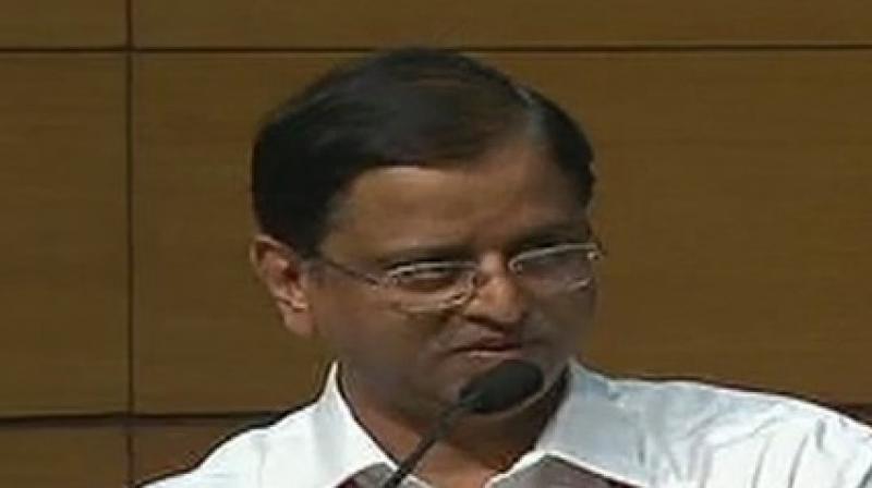 Economic Affairs Secretary Subhash Garg. (Photo: ANI)