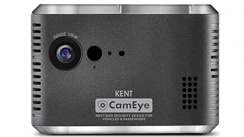 The CamEye features driver and car monitoring features, GPS Tracking with Route Playback,  AI based Smart Alerts on your phone.