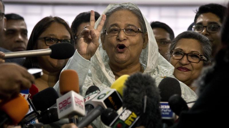 Sheikh Hasina (Photo: AP)