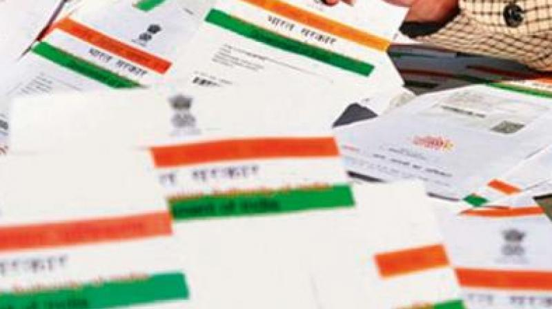 The states have been advised, to seed the mobile numbers of all vaccine beneficiaries with Aadhaar for registration and communications through SMS and to ensure that there are no proxies in this process since the beneficiaries need to be uniquely identified. (Representational photo:PTI)