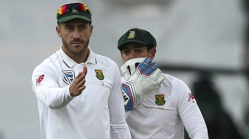 This is the second time du Plessis has been fined for ball-tampering, after he was docked 50 percent of his match fee in 2013 in the second Test against Pakistan. (Photo: AP)