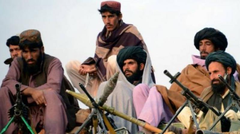 'Our leader, Omar Khalid Khorasani, was wounded in one of the recent drone strikes in Afghanistan. He was wounded badly, and today he was martyred,' Asad Mansoor, a Jamaat-ul-Ahrar spokesman, said by telephone. (Photo: AFP)