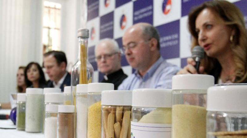 Sao Paulo mayor Joao Doria faces controversy over a food product made from leftovers that is to be given to school kids. (Photo: AFP)