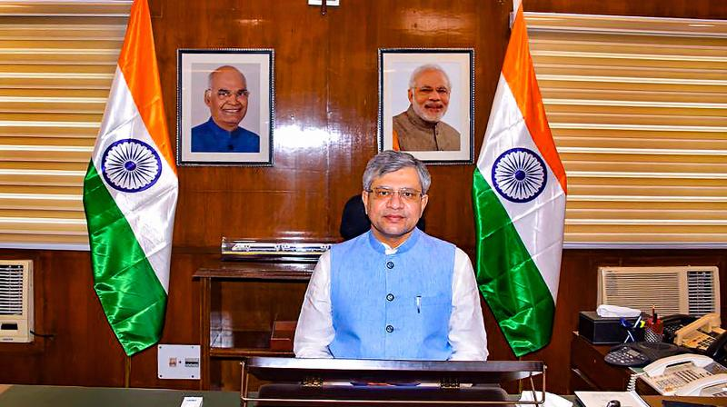 Union minister for IT and communications Ashwini Vaishnaw. (PTI)