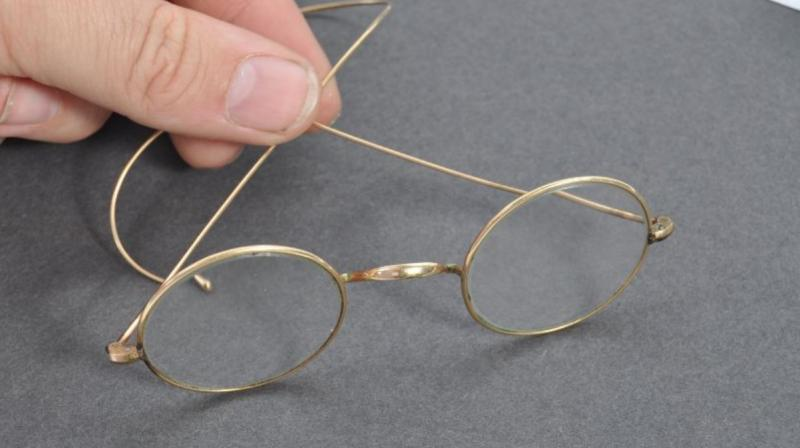 Mahatma Gandhi gave these spectacles away as a gift to a man in South Africa. (Photo: East Bristol Auctions)