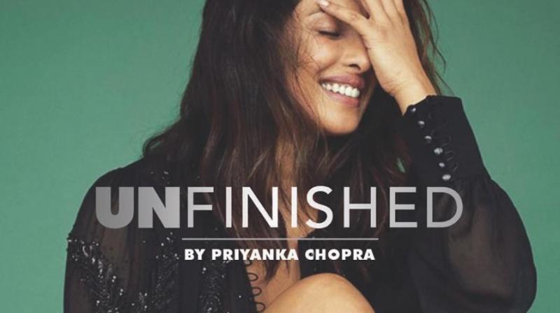 Priyanka Chopra has written a memoir of her time in the limelight.
