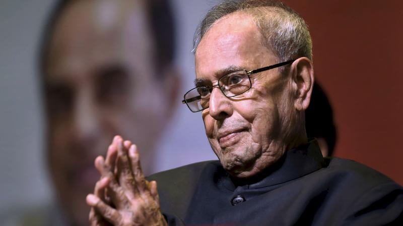 Former president Pranab Mukherjee has been admitted to the Army's R&R hospital in New Delhi.