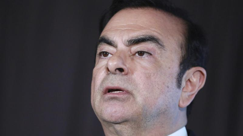 """Ghosn became an international fugitive after he revealed last week he had fled to Lebanon to escape what he called a """"rigged"""" justice system in Japan. (Photo:AP)"""