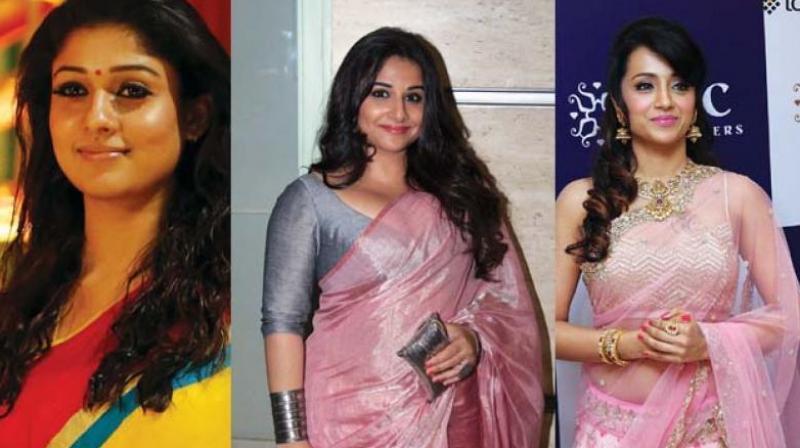 Nayanthara, Vidya Balan and Trisha
