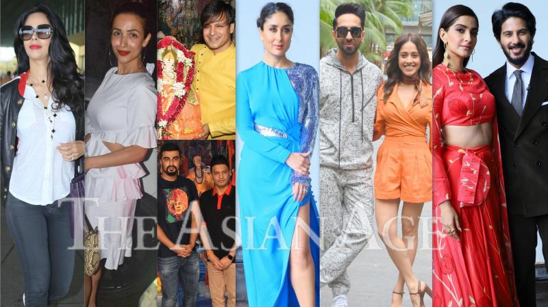 City Of Stars: Kareena, Sonam, Ayushmann, Malaika others snapped; see pics