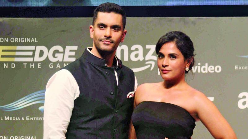Angad Bedi and Richa Chadha