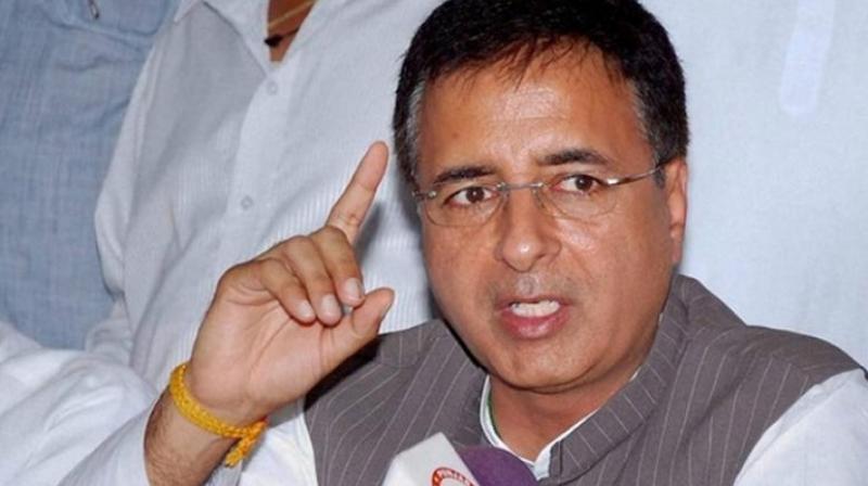 Randeep Surjewala (Photo: PTI)