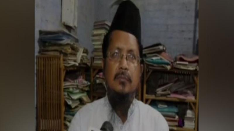 'After Parliament passed a law on triple talaq criminalizing it, we have decided that we will not issue any fatwa in such matters. Nothing in writing will be given by us as if someone approaches the police or law court we might land into complex intricacies of the law,' said Maulana Shahabuddin, official spokesperson of the Dargah-e-Ala Hazrat. (Photo: ANI)