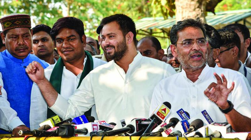 A file photo of RJD leader Tejashwi Yadav (Photo: PTI)