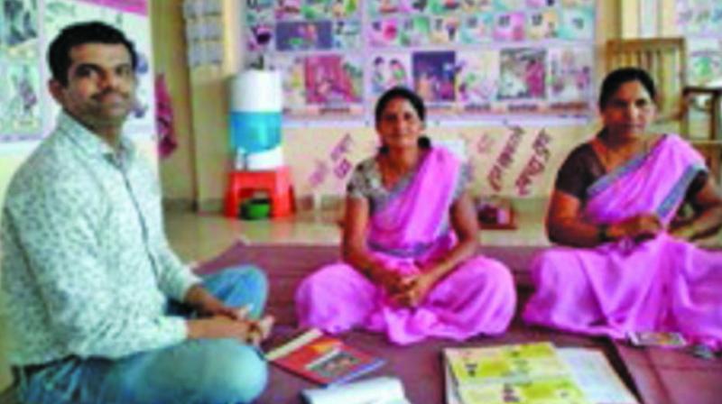 Twin anganwadis in Maha village make nutrition impact