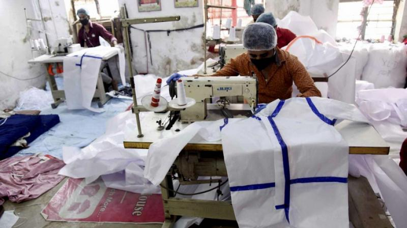 Government allows export of PPE kits. (PTI Photo)