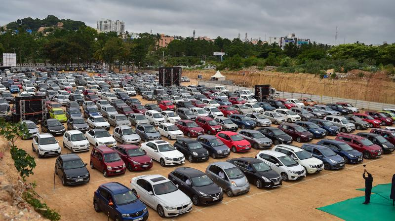 India is drawing up an incentive scheme for the autos sector aimed at doubling exports of vehicles and components in the next five years. (PTI Photo)