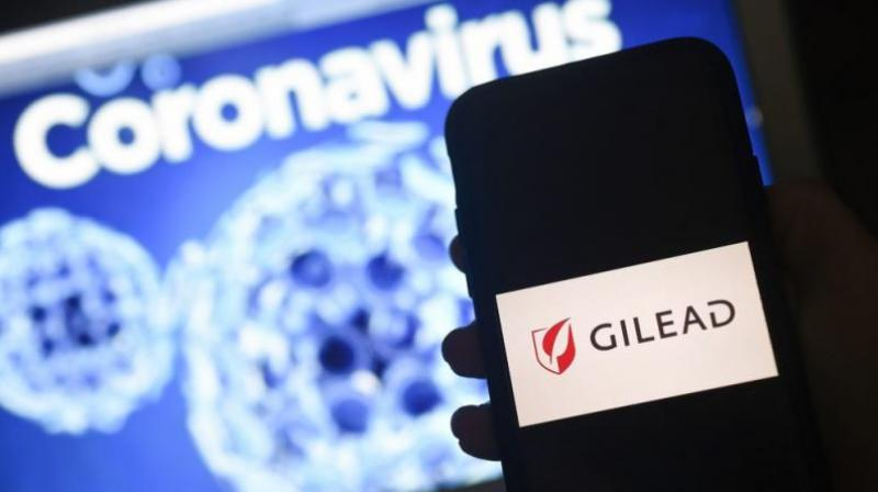 Gilead Sciences Inc on Monday priced its COVID-19 antiviral remdesivir at $2,340 per patient for wealthier nations and agreed to send nearly all of its supply of the drug to the United States over the next three months. (AFP Photo)