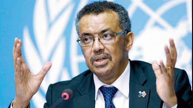 Tedros Adhanom Ghebreyesus, Director-General of the World Health Organization. (AP)