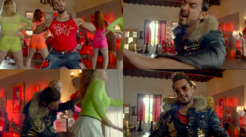 Screengrabs from Aamir Khan's 'Sexy Baliye.'