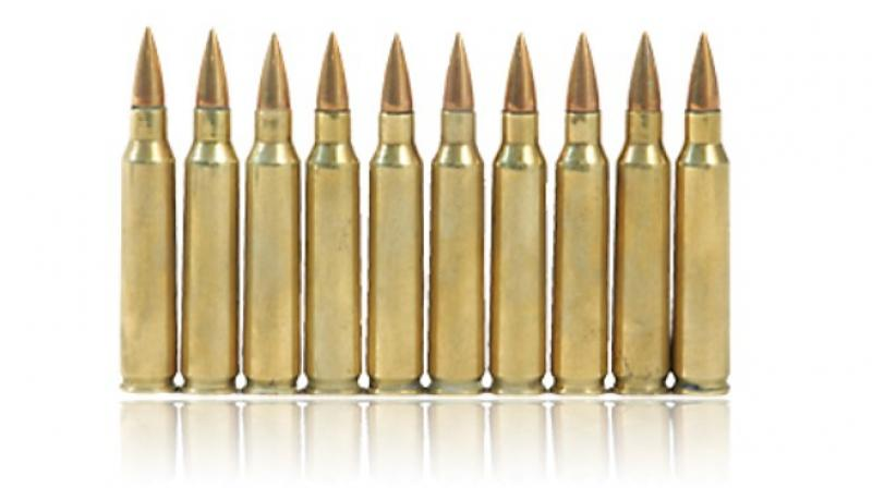 Something like that? Pakistan-made 7.62 mm ammunition. (Representation only)